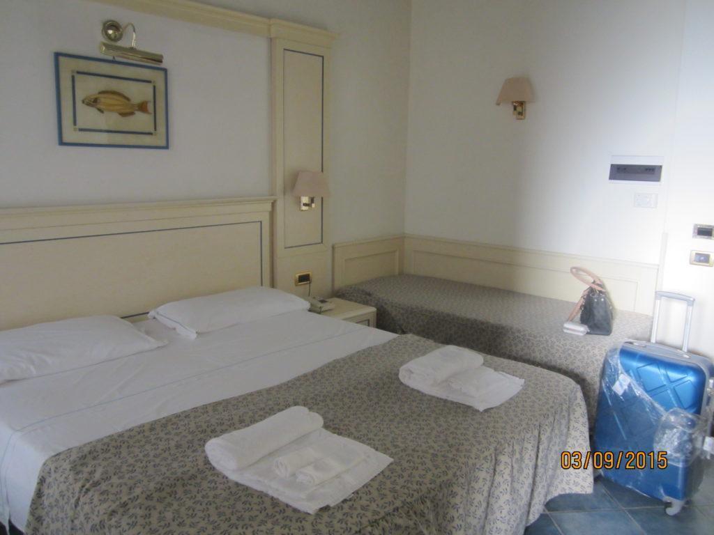 Наш номер-студия отеля Посейдона