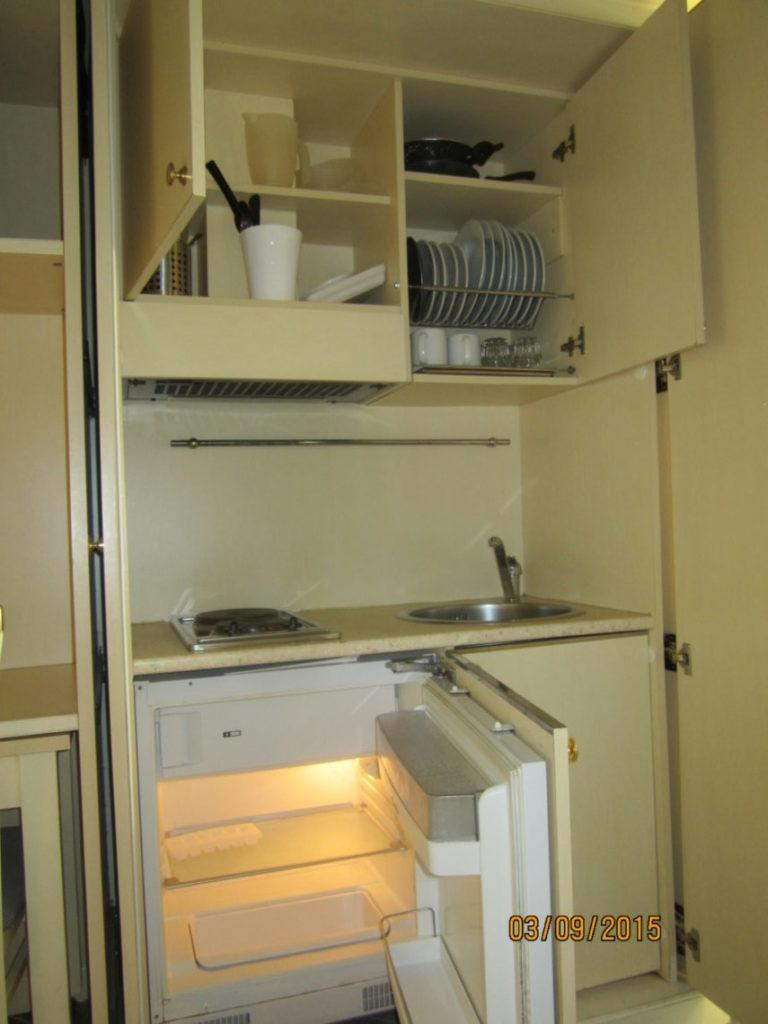 Мини-Кухня номера отеля Посейдон