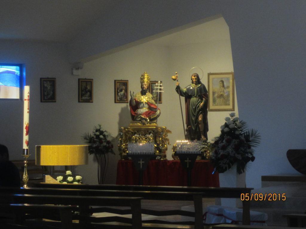 Интерьер. Церковь в Сперлонге
