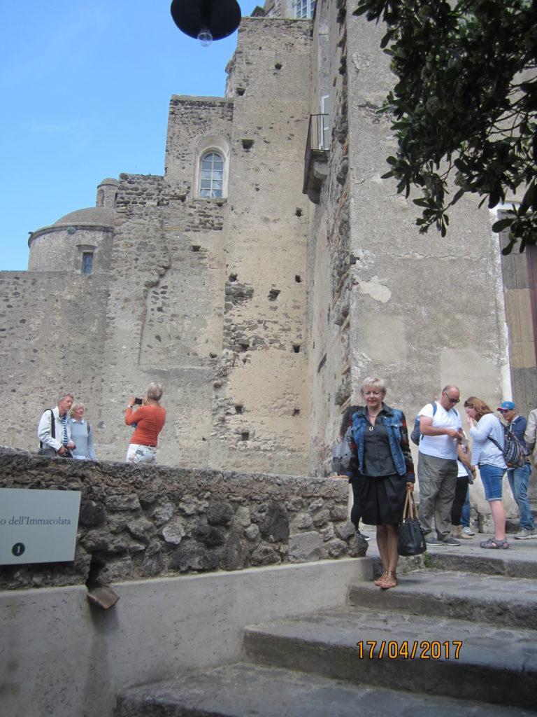 Арагонский замок. Начало экскурсии