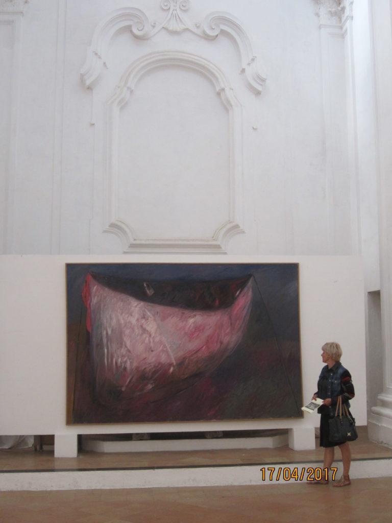 Арагонский замок. Выставка современного искусства