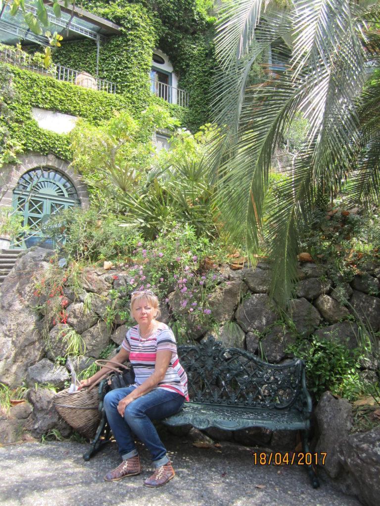 Сад Ла Мортелла.Вилла Уолтонов.