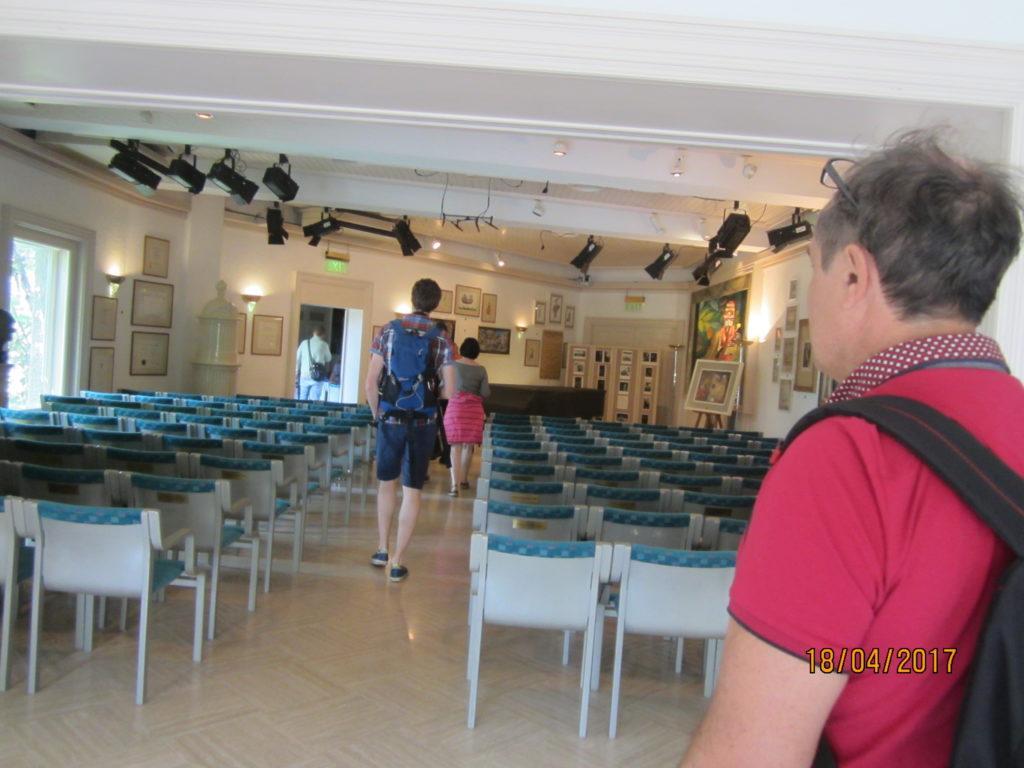 Сад Ла Мортелла. Концертный зал.