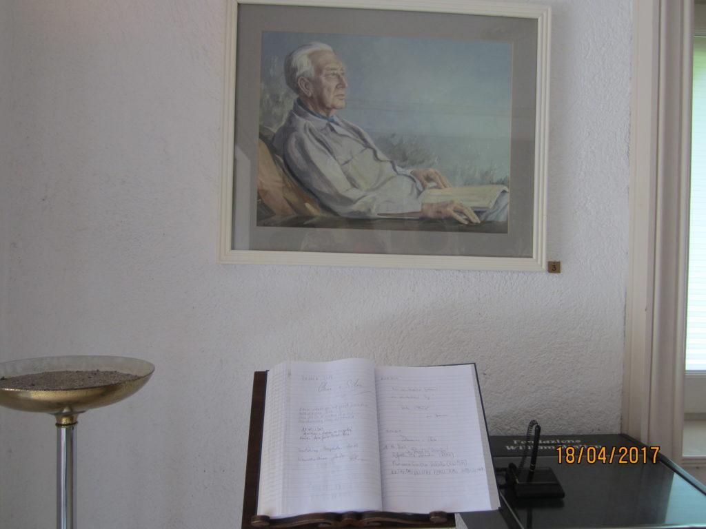 Сад Ла Мортелла. Портрет Уильяма.