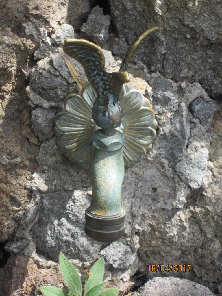 Сад Ла Мортелла. Кран с водой