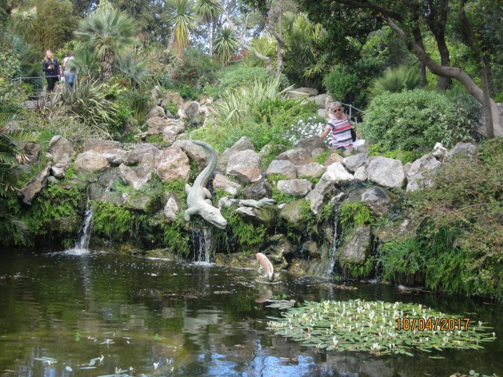 Сад Ла Мортелла. Каскад Крокодила