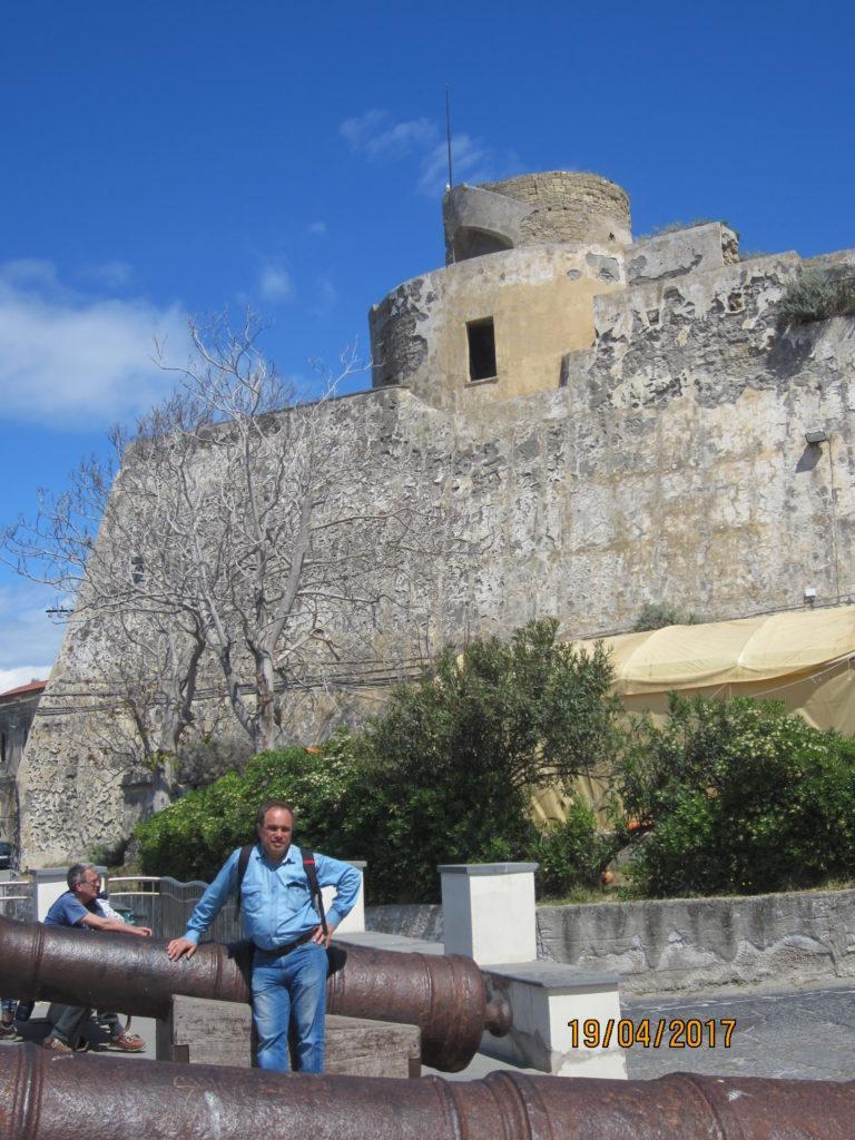 Смотровая площадка возле замка.