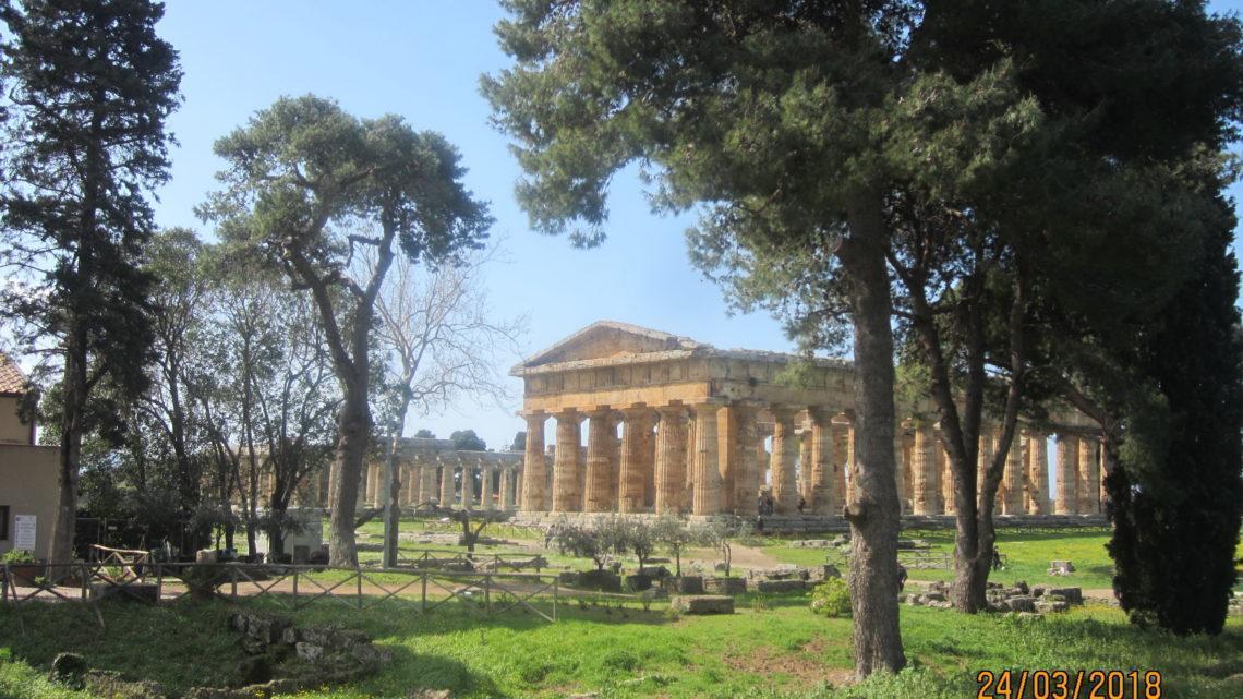 Древний Пестум (Paestum) и его храмы.
