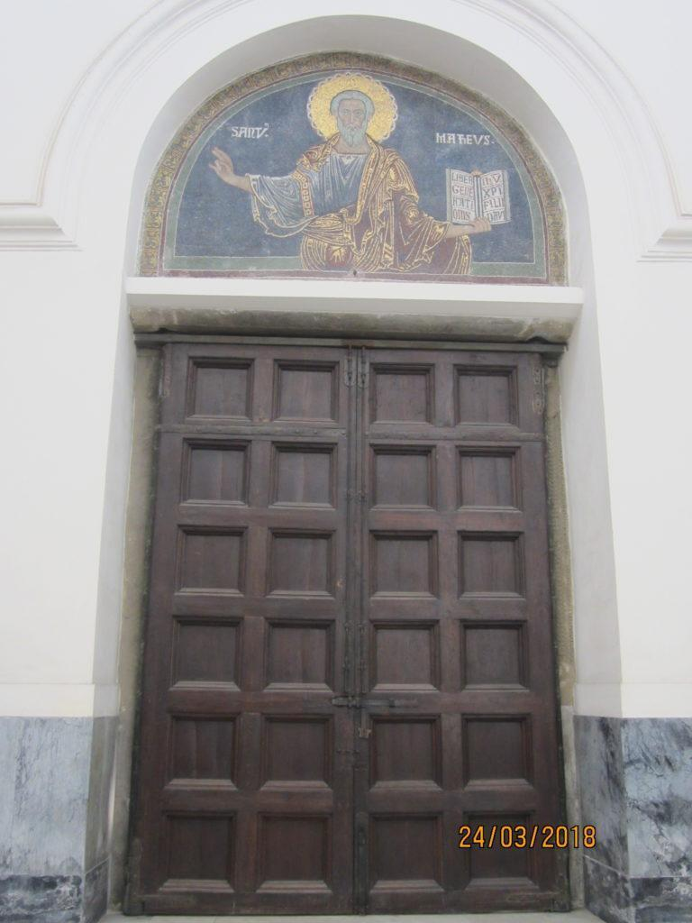 Салерно. Собор Святого Матвея.