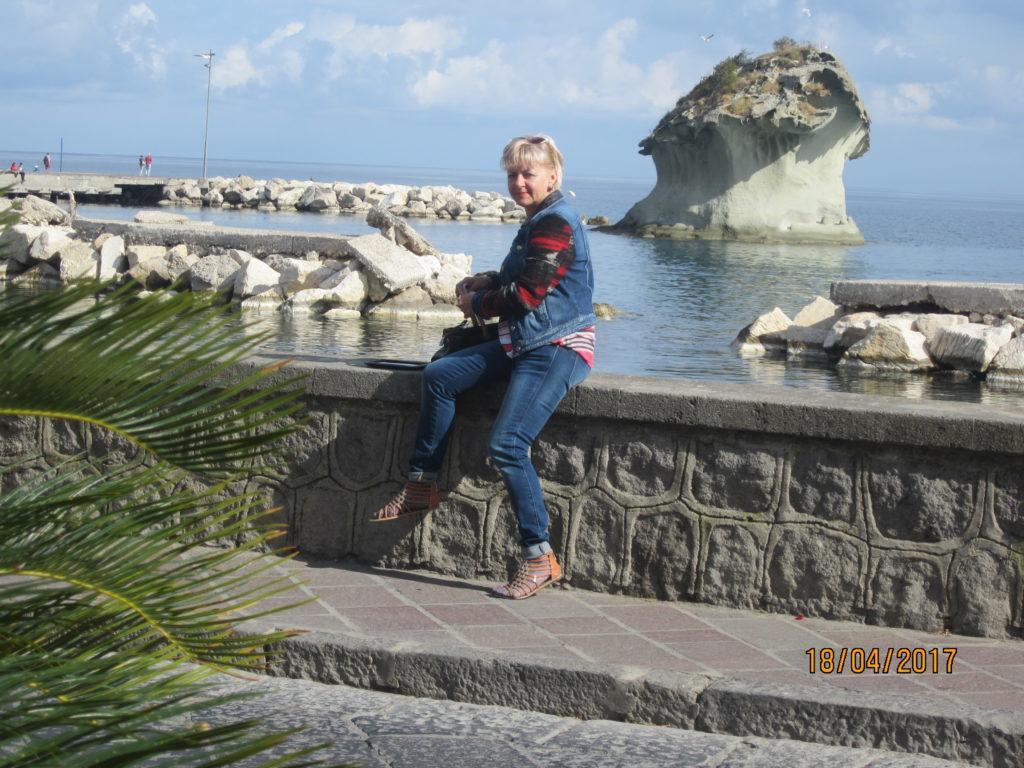 В Лакко Амено. Набережная,природный риф «Фунго»