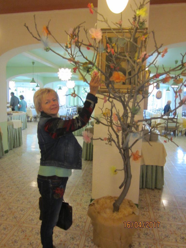 В Пасхальный день в отеле на о. Искья