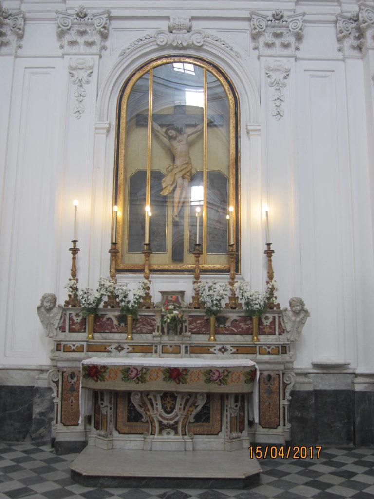 В церкви Форио