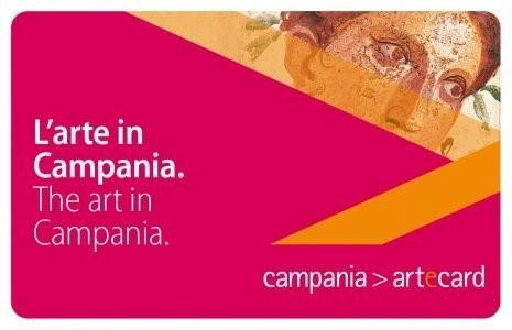 Музейно-транспортная карта региона Кампания.Италия