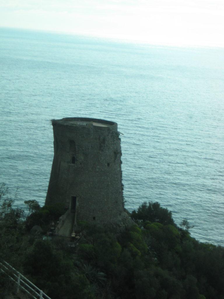 По дороге в Амальфи. Италия
