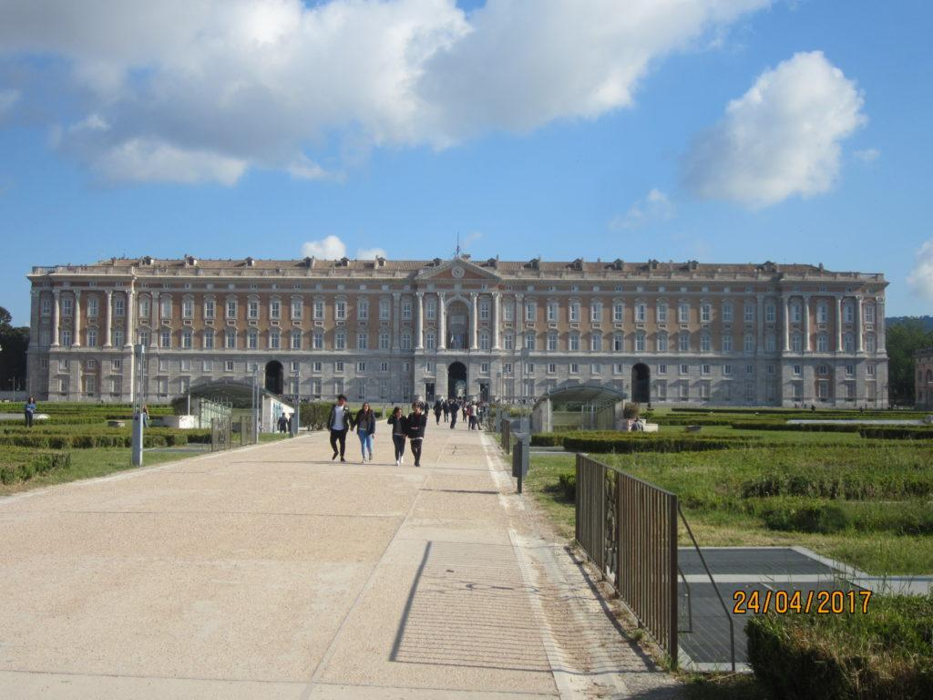 Дворцовый комплекс Казерта.