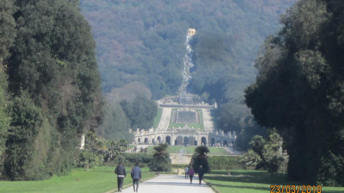 Казерта. Королевский дворец и парк.