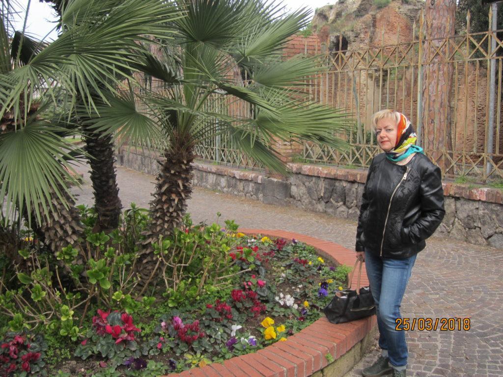 Амфитеатр Флавия. Поццуо́ли. Италия.