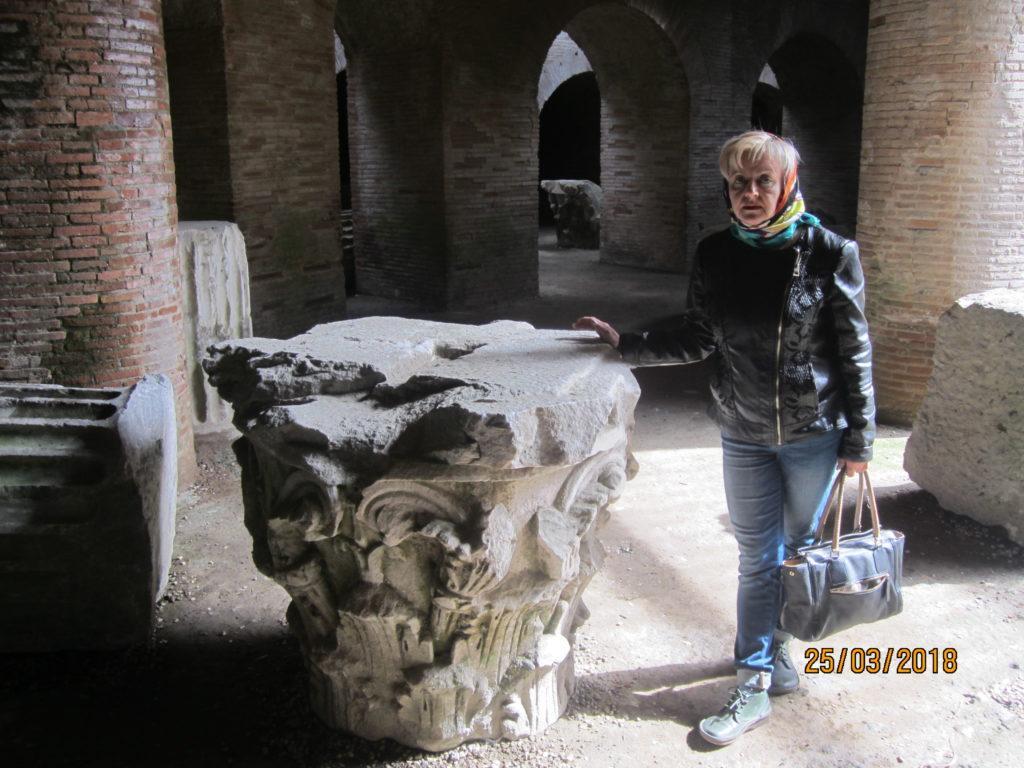 Амфитеатр Флавия. Поццуоли. Италия.