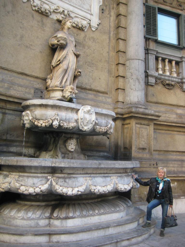 Палермо. Площадь четырех углов Quattro Canti