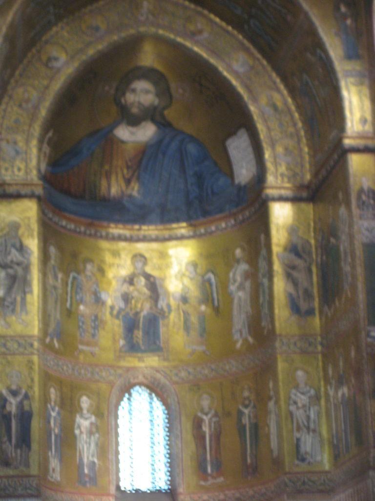 Duomo di Monreale. Сицилия.