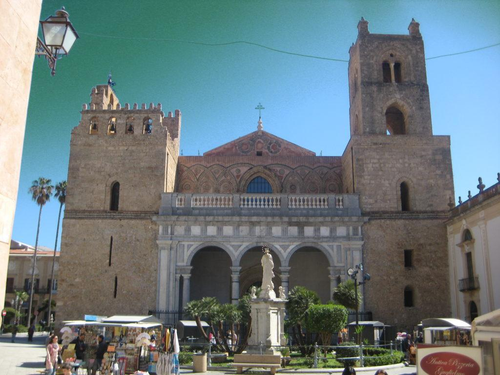 Duomo di Monreale. Монреале. Сицилия.