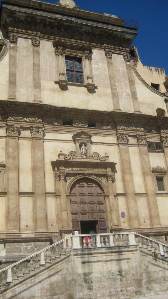 Церковь Санта-Катерина. Палермо