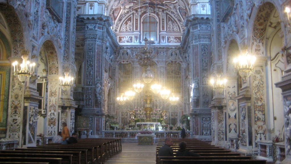 Церковь Святой Катерины (Chiesa di Santa Caterina). Палермо