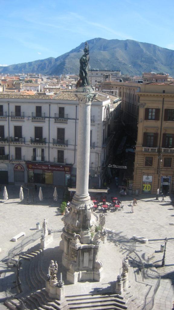 Палермо. Площадь Святого Доминика