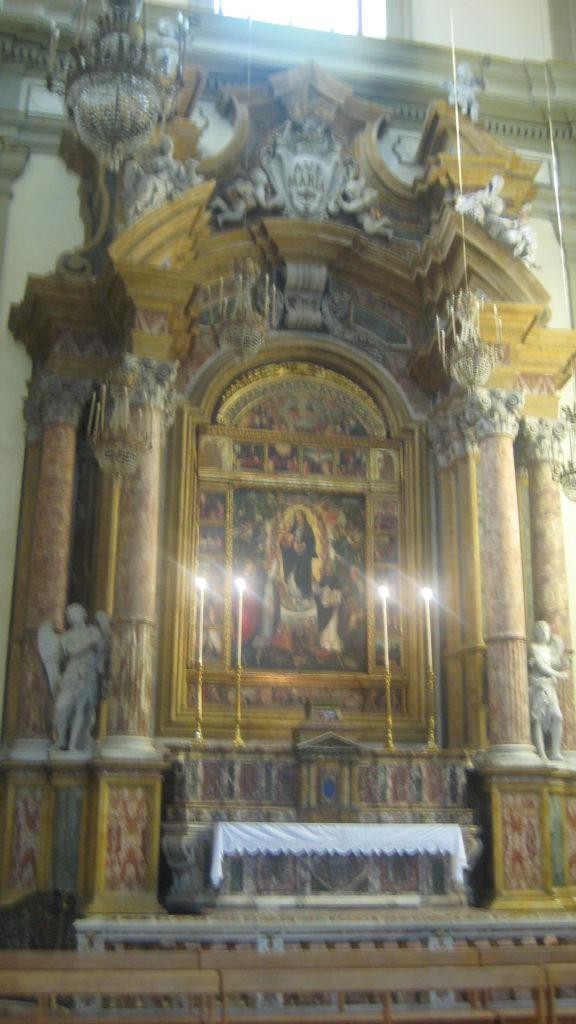 Рака в церкви Святого Доминика. Палермо