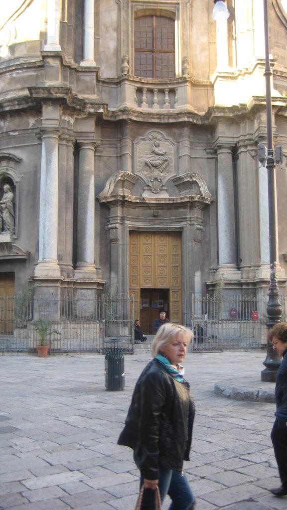 Церковь Святой Анны. Палермо.