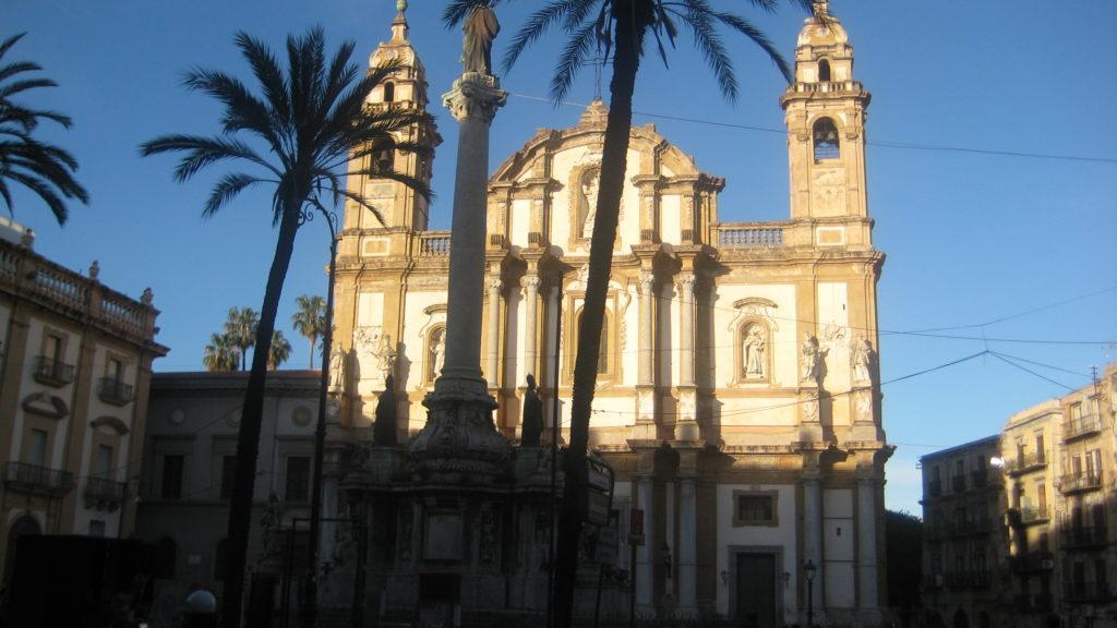 Палермо. Церковь святого Доминика