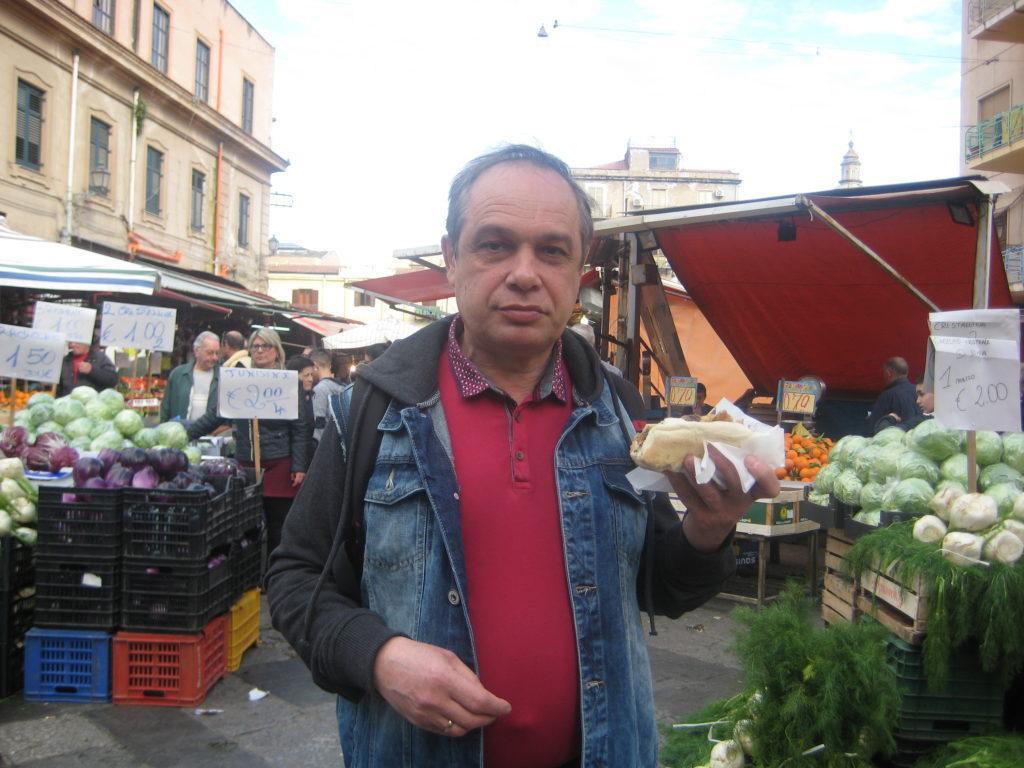 Палермо. Рынок Балларо
