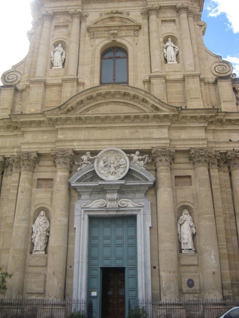 Палермо. Церковь Святой Терезы в Кальсе (Chiesa di Santa Teresa alla Calsa)