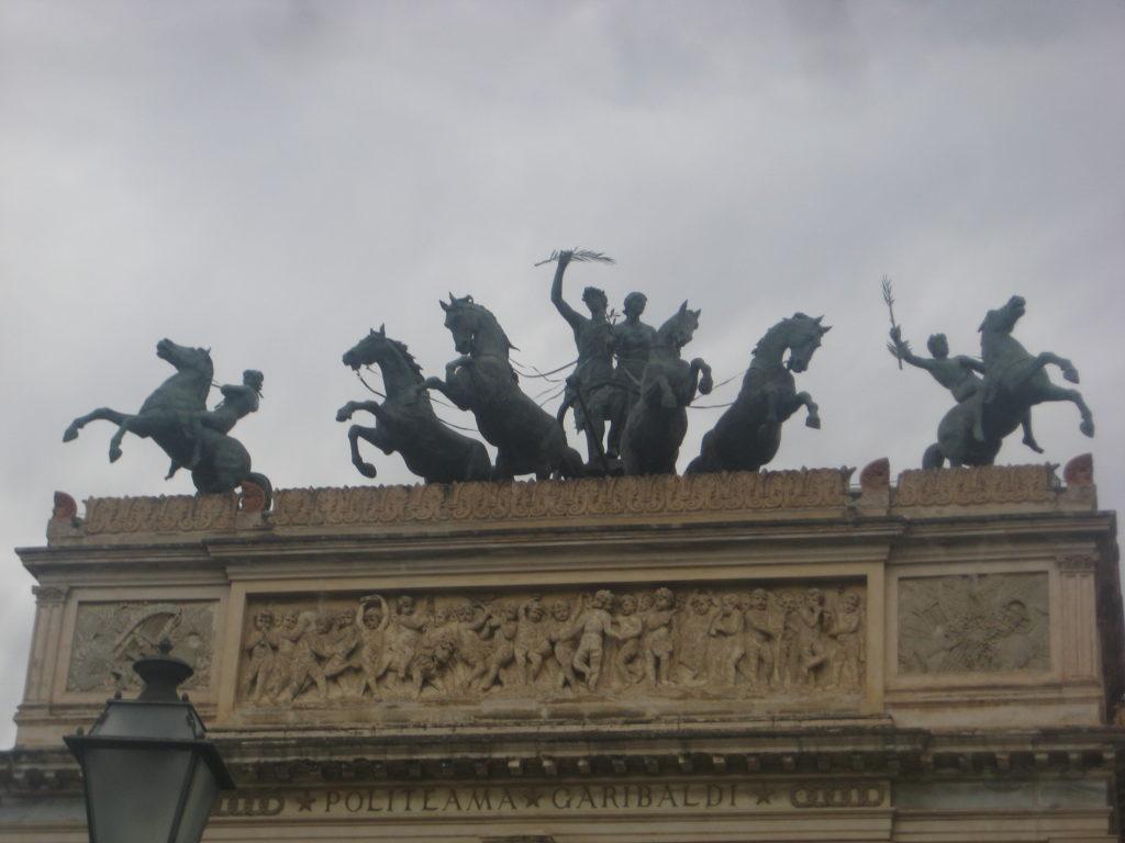 Палермо. Театр Политеама