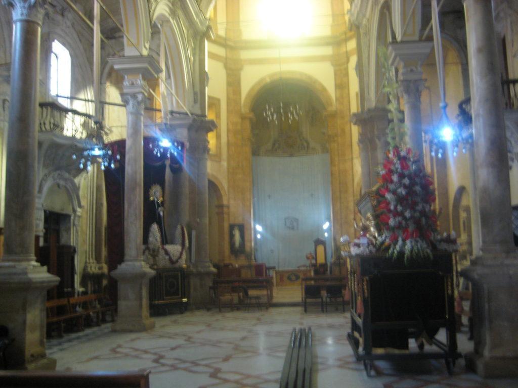 Палермо. Сhiesa di Santa Maria della Catena