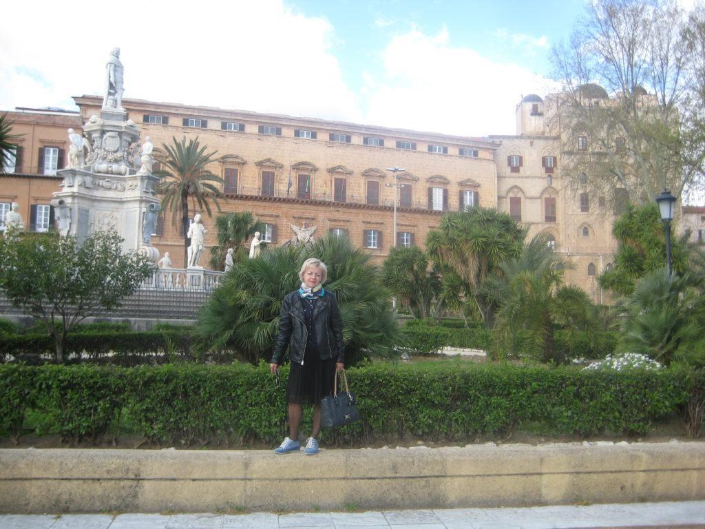 Палермо. Норманнский дворец.Palazzo dei Normanni