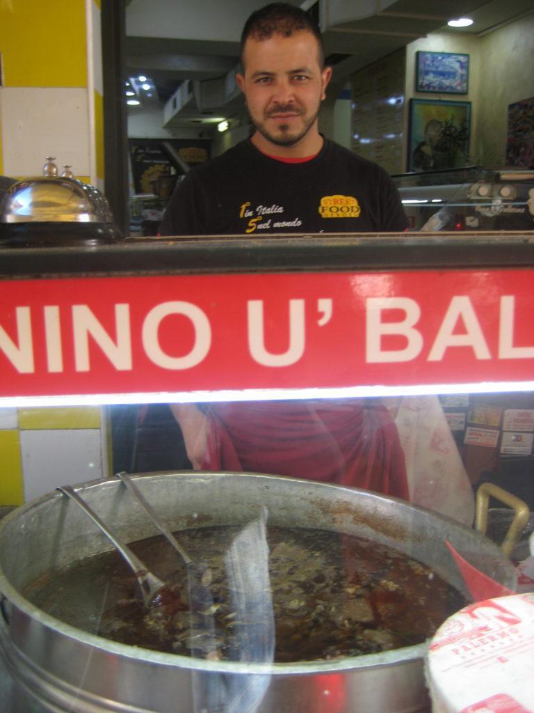 В фокаччерии Nino u ballerino. Палермо