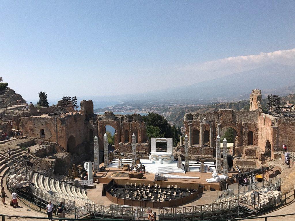 Античный Греческий театр Таормина