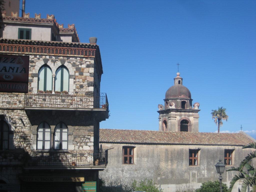 Таормина. Площадь San Pancrazio