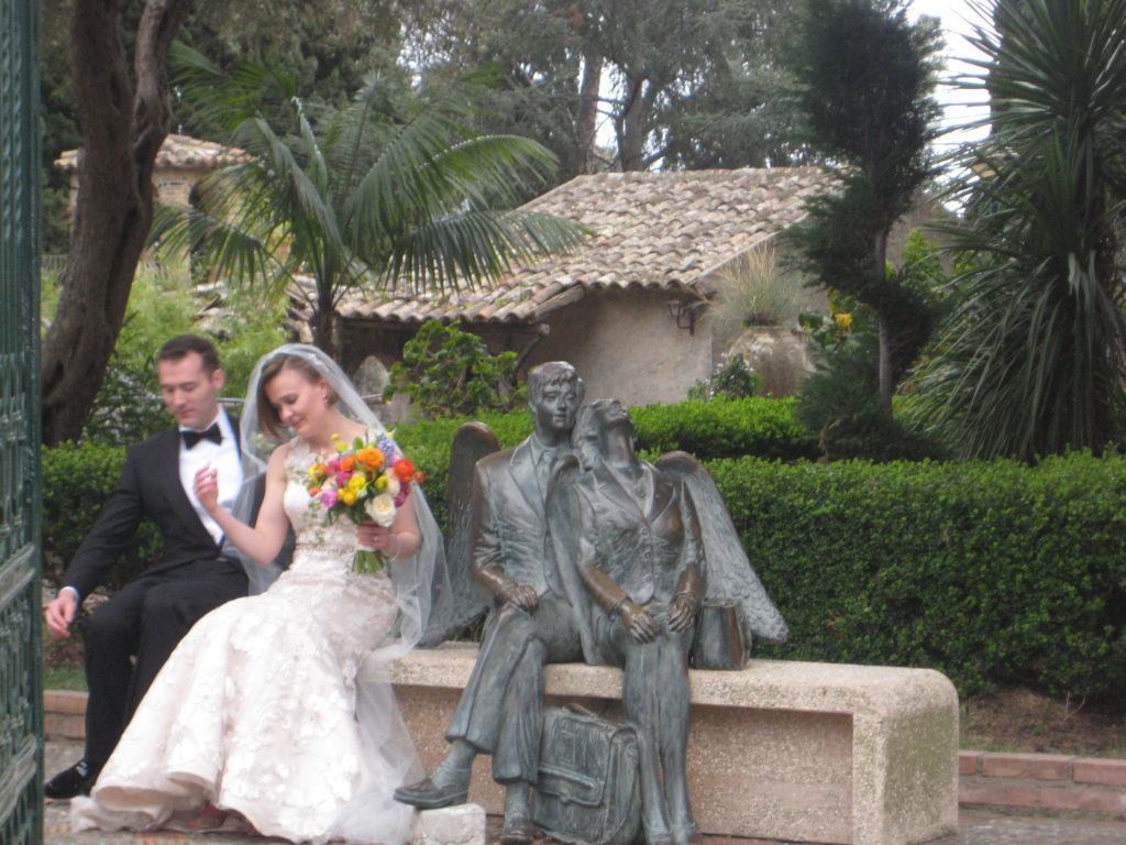 Таормина. Вилла Комунале. Свадьба.