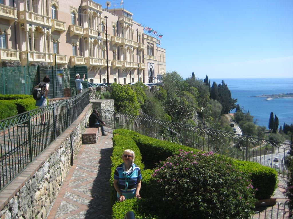 Таормина. Смотровая площадка (Terrazza Panoramica)
