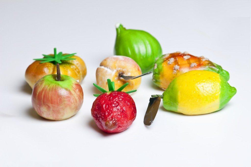 Бар-кондитерская Rosanero. Марципановые фрукты