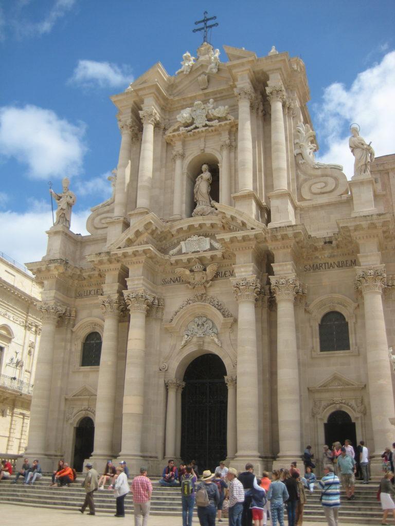 Сиракузы. Кафедральный Собор.