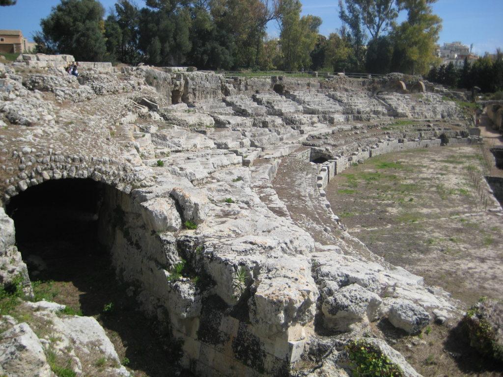 Сиракузы. В Археологическом парке (Parco Archeologico Neapolis).