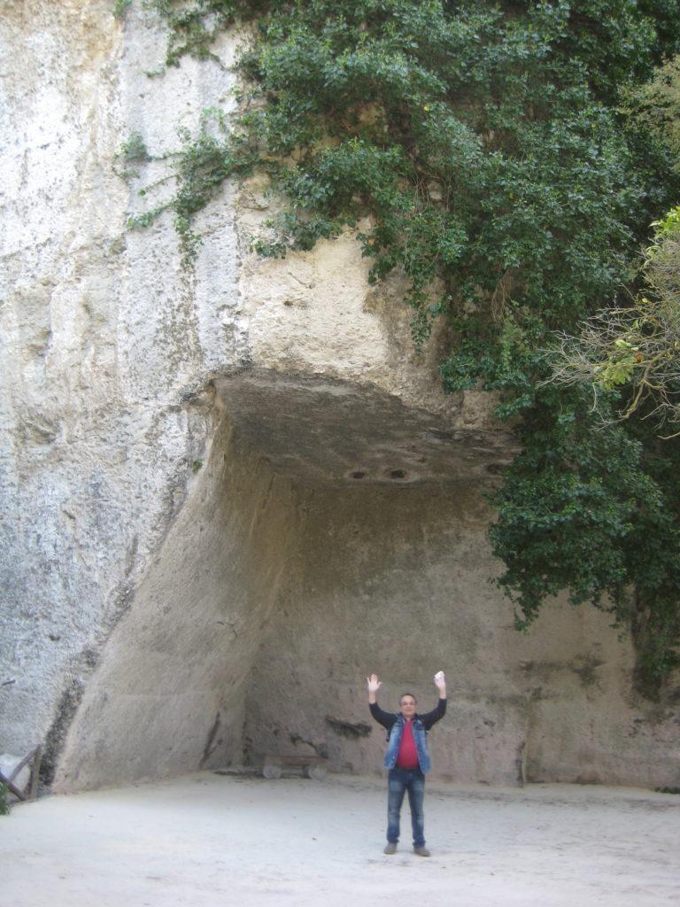 Сиракузы. Parco Archeologico Neapolis. К Уху Дионисия.