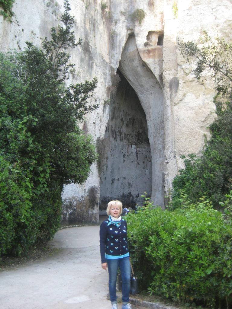 Сиракузы. Parco Archeologico Neapolis. Ухо Дионисия.