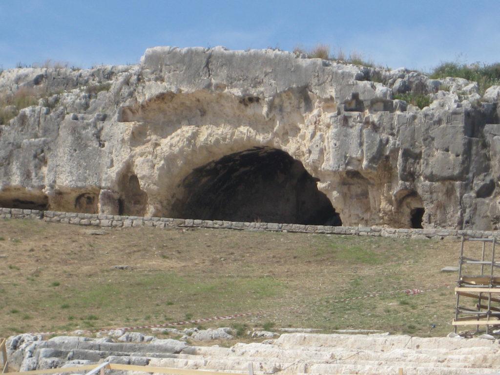 Археологический парк Сиракузы. Древнегреческий театр. пещера Райская