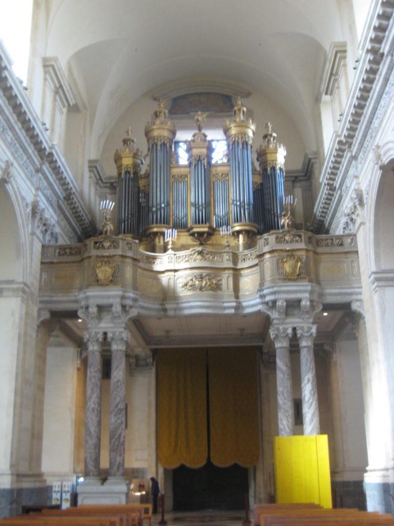 В Кафедральном соборе св.Агаты. Катания.