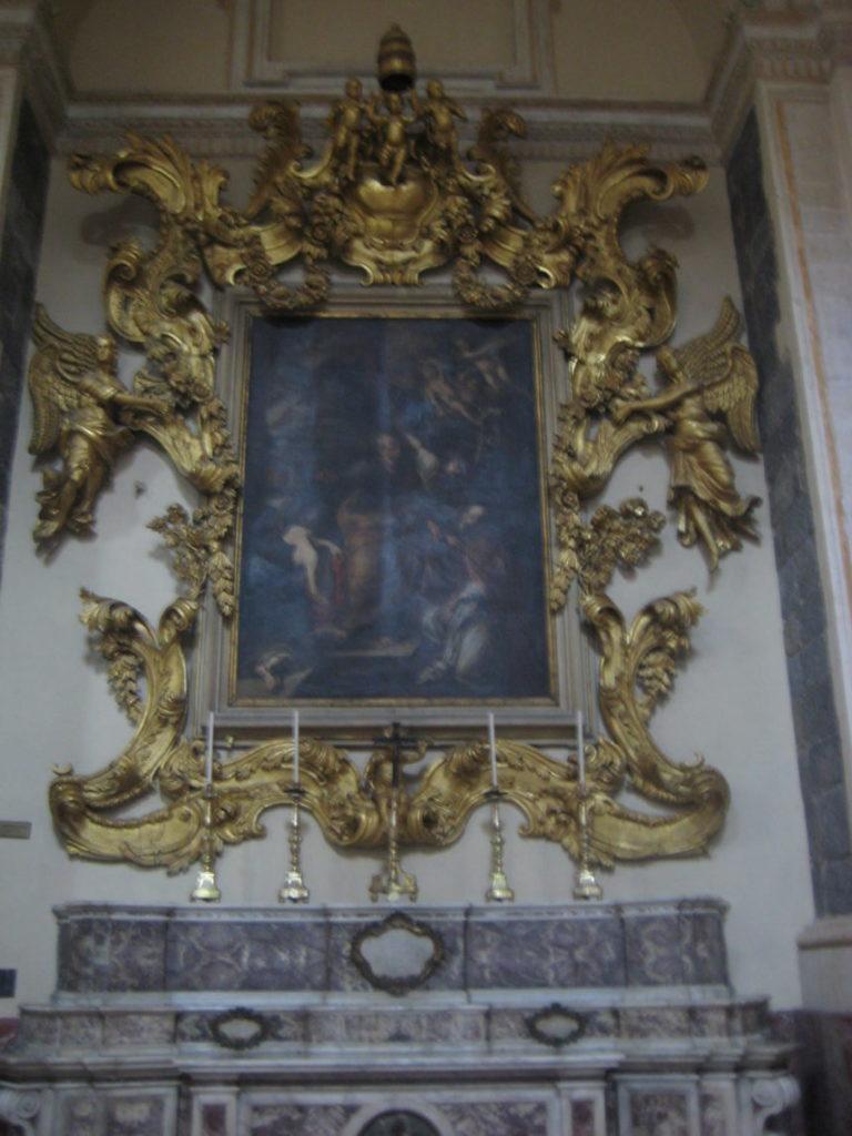 Внутри главного собора Катании