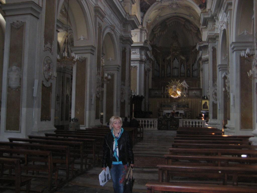 Катания. Basilica Collegiata. Интерьер